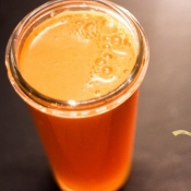 Carrot, Apple and Ginger Juice
