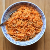 Carrot and Coconut Salad