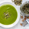 Spinach Tahini Chickpea Soup