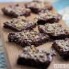 Raw Brownies with Chocolate Avocado Frosting