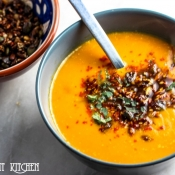 Smoky Squash & Butterbean Soup
