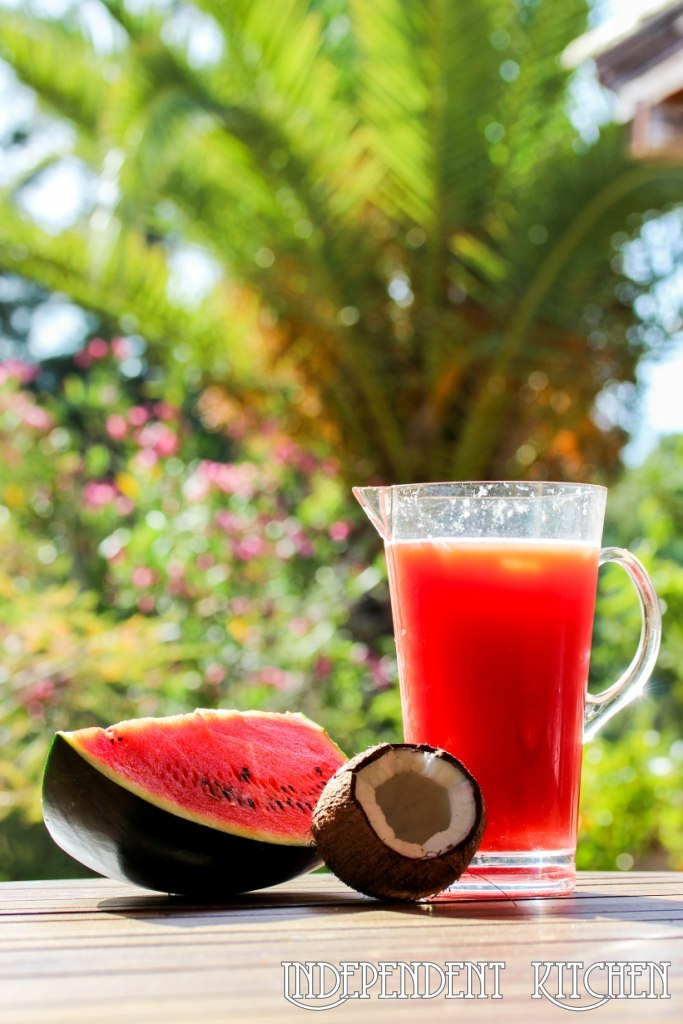 Watermelon Coconut cocktail
