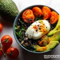 Black rice bowl