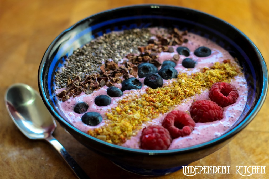 2 minute smoothie bowl