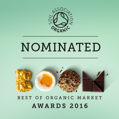 Soil Association BOOM Best Food Blog nomination