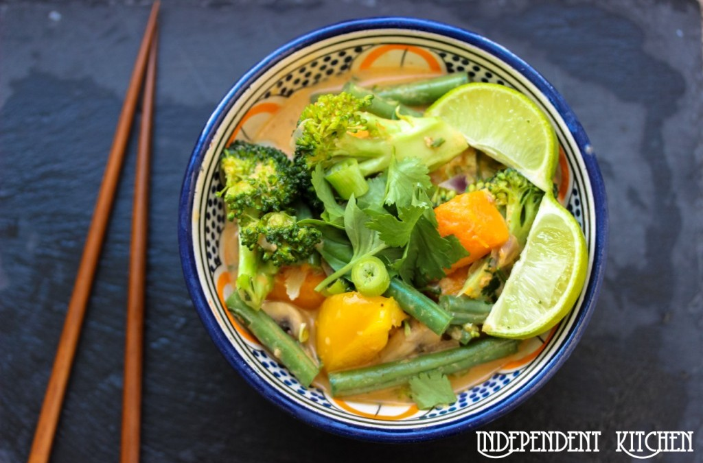 Thai Red Vegetable Curry